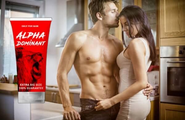 alphadominant, krem, hímvessző libidó erekció szex