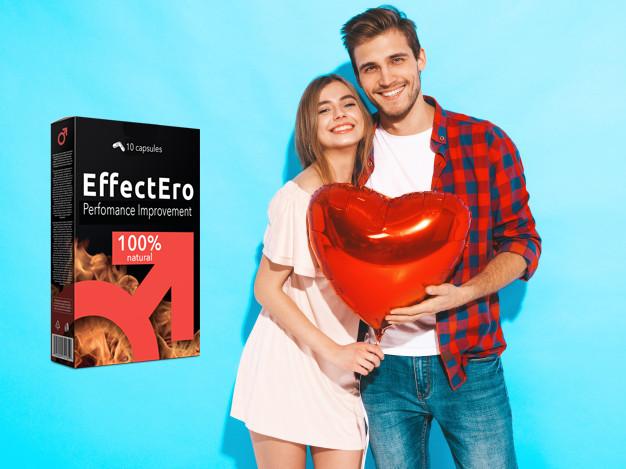 EffecEro kapszula mosolygó pár