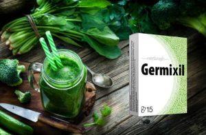 Germixil – Szerves kapszula egy természetes formula fellendítése Detox folyamatok és megszabadulni a paraziták!