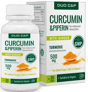 Duo C&P Curcumin Piperin Kapszula Magyarország